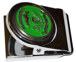 Irish Brigade Flag All Metal Note Holder Magnet